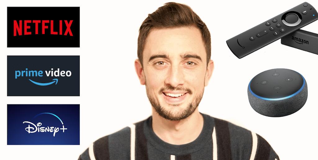 Controla NETFLIX, PRIME VIDEO y DISNEY+ con la VOZ – Alexa Echo Dot y Fire TV Stick