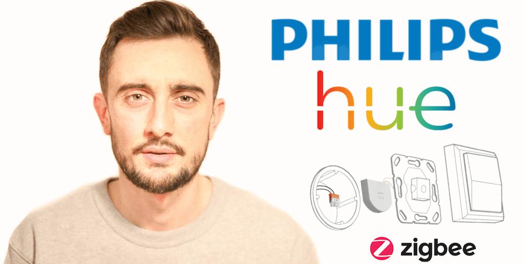 Convierte tu interruptor tradicional en interruptor inteligente con Philips Hue.