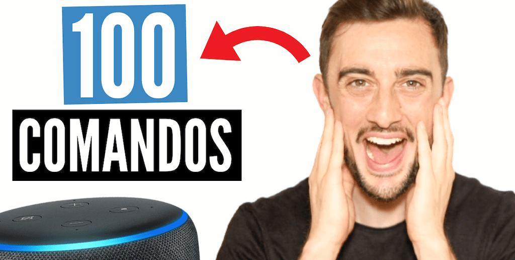 100 COMANDOS con ALEXA que DEBES DESCUBRIR! (Amazon ECHO DOT o SHOW)